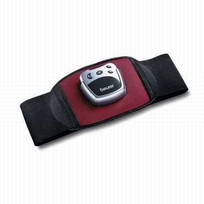 ceinture de musculation abdominale noir et gris ceinture. Black Bedroom Furniture Sets. Home Design Ideas